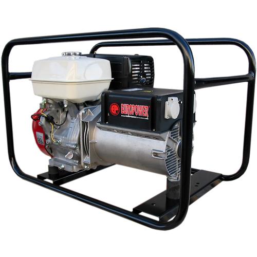 Генератор бензиновый Europower EP 6500 T 3X230V для ж/д в Гусеве