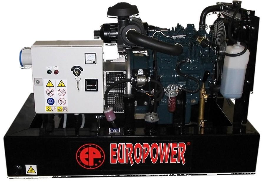 Генератор дизельный Europower EP 30 DE в Гусеве