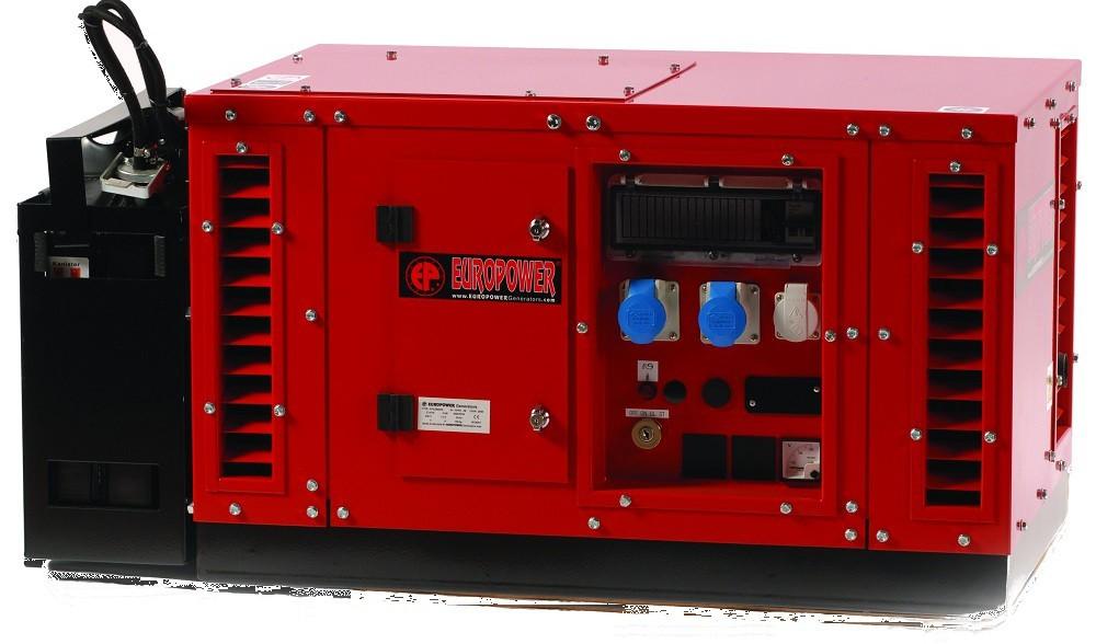 Генератор бензиновый Europower EPS 15000 TE в Гусеве