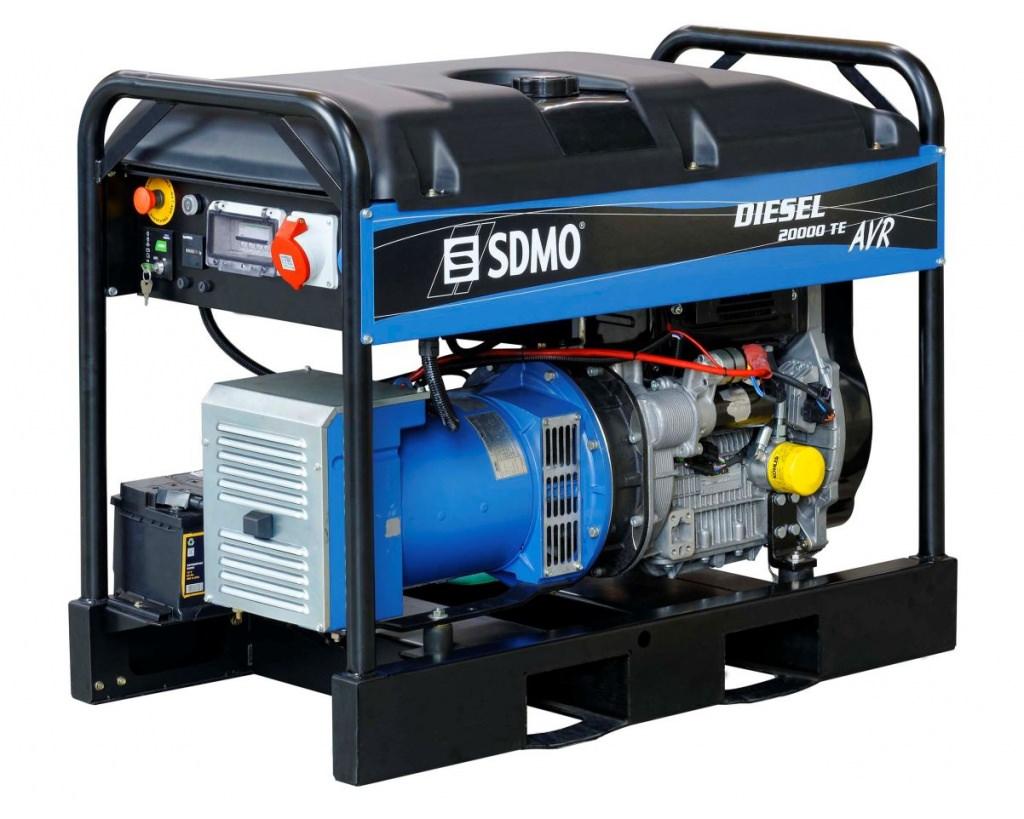 Генератор SDMO DIESEL 20000 TE XL AVR C в Гусеве