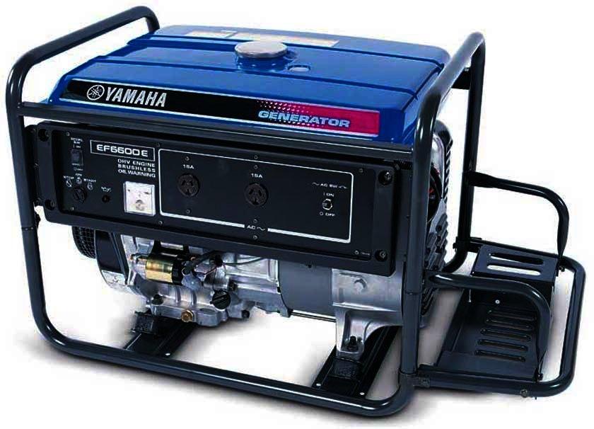 Генератор Yamaha  EF6600E в Гусеве