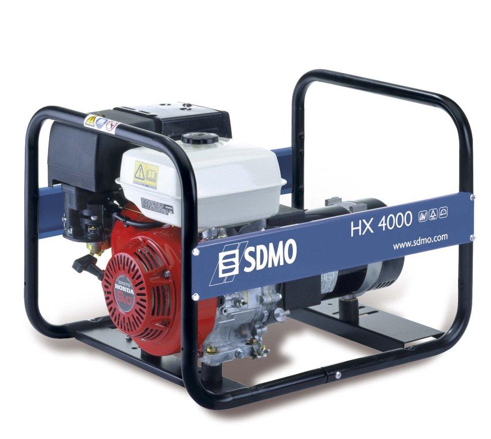 Генератор SDMO HX 4000-S в Гусеве