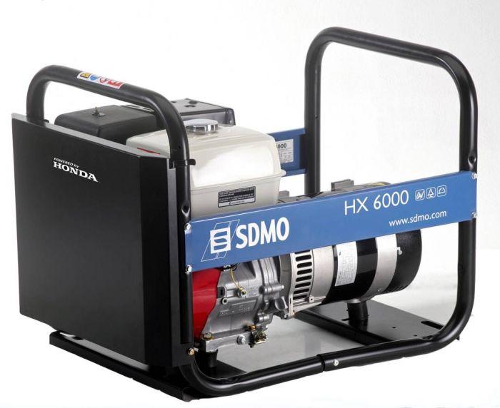 Генератор SDMO HX 6000-S в Гусеве