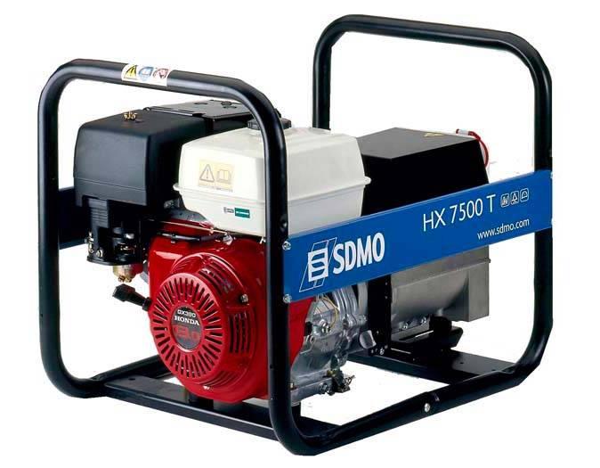 Генератор SDMO HX 7500 T-S в Гусеве